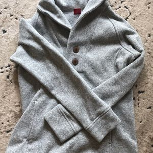 Fleece lined sweater
